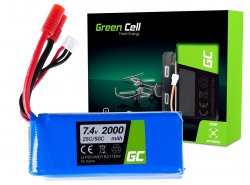 Green Cell ® für Sym X8C X8G X8HC X8HG X8HW X8W 7.4V 2000mAh