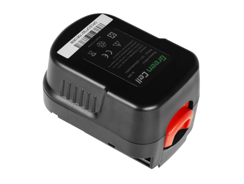 Batterie Akku für Black /& Decker HP12 HP12K HP12KD HP122 HP122K HP122KD 12V 2Ah