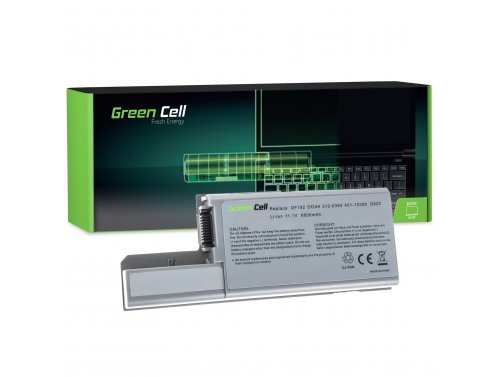 Green Cell Battery CF623 DF192 for Dell Latitude D531 D531N D820 D830 PP04X Precision M65 M4300