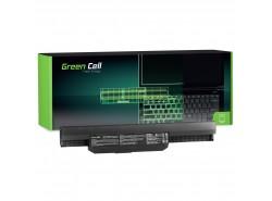 Green Cell Battery A32-K53 for Asus K53 K53E K53S K53SJ K53SV K53T K53U K54 X53 X53E X53S X53SV X53U X54 X54C X54H X54L