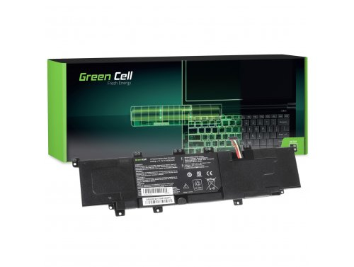 Green Cell Battery C31-X402 for Asus VivoBook S300 S300C S300CA S400 S400C S400CA X402 X402C