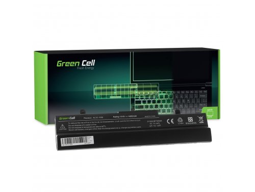 Green Cell Battery AL31-1005 AL32-1005 ML31-1005 ML32-1005 for Asus Eee-PC 1001 1001PX 1001PXD 1001HA 1005 1005H 1005HA