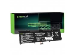 Green Cell Battery C21-X202 for Asus X201 X201E F201E VivoBook F202E Q200E S200E X202 X202E