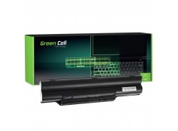 Green Cell Battery FPCBP145 for Fujitsu-Siemens LifeBook E751 E752 E782 E8310 P771 P772 T580 S710 S751 S752 S760 S762 S782