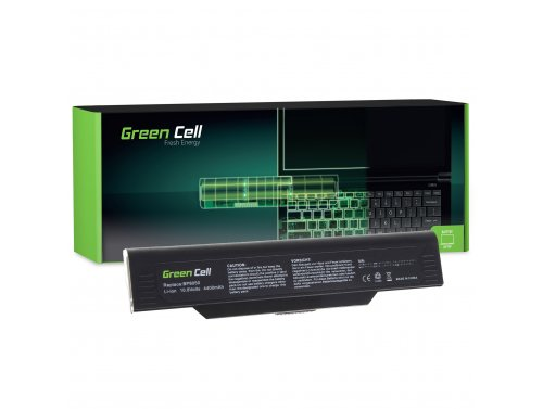 Green Cell Battery BP-8050 for Fujitsu-Siemens Amilo M1420 L1300 L7310W Systemax Neotach 3300