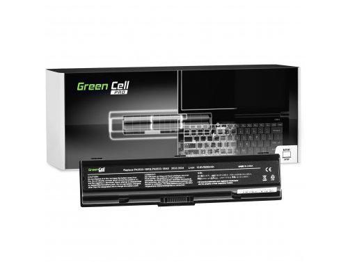Green Cell PRO Battery PA3534U-1BRS for Toshiba Satellite A200 A205 A300 A300D A350 A500 A505 L200 L300 L300D L305 L450 L500