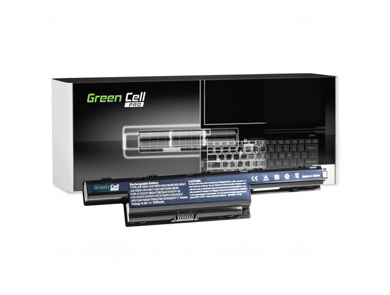 Laptop Battery Green Cell Pro As10d31 As10d41 As10d51 For Acer Aspire 5733 5741 5742 5742g 5750g