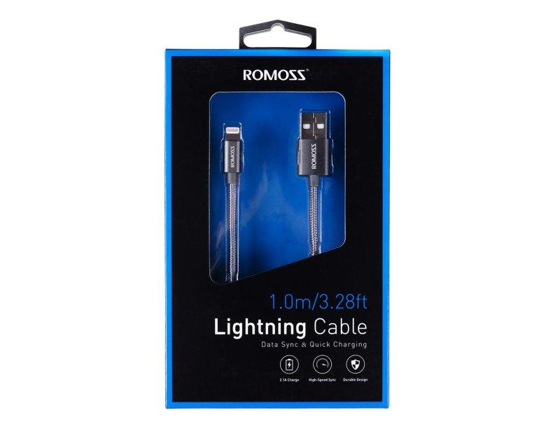 Kabel Draht Romoss Lightning Apple iPod iPhone iPad 1m - Battery ...