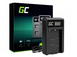 Camera Battery Charger MH-23 Green Cell ® for Nikon EN-EL9, DSLR D40, D40X, D60, D3000, D5000