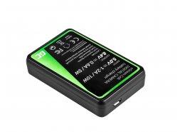 Camera Battery Charger MH-23 Green Cell ® for Nikon EN-EL9, DSLR D40, D40X, D60, D3000, D5000
