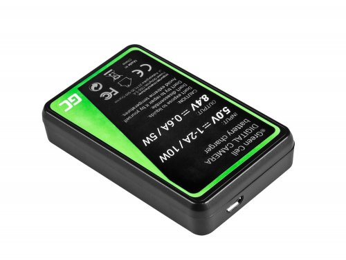 Camera Battery Charger LC-E12 Green Cell ® for Canon LP-E12, EOS M100, EOS100D, EOS-M, EOS M2, EOS M10, Rebel SL1