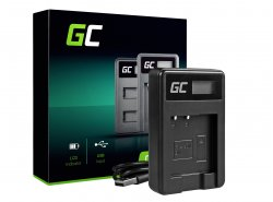 Camera Battery Charger BC-CSN Green Cell ® for Sony NP-BN1, Cyber-Shot DSC-QX10 DSC-QX100 DSC-TF1 DSC-TX10 DSC-W530