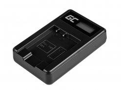 Camera Battery Charger BC-CSN Green Cell ® for Sony NP-BN1, Cyber-Shot DSC-QX10 DSC-QX100 DSC-TF1 DSC-TX10 DSC-W530
