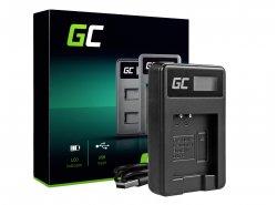 Camera Battery Charger LI-50C Green Cell ® for Olympus LI-50B, SZ-15, SZ-16, Tough 6000, 8000, TG-820, TG-830, TG-850