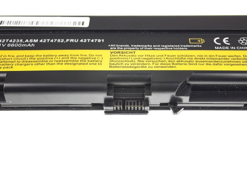 Laptop Battery 42t4795 For Ibm Lenovo Thinkpad T410 T420