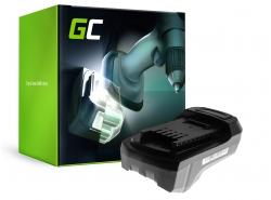 Green Cell ® Power Tool Battery for Einhell RT-CD 14,4/1 2 Ah 14.4 V