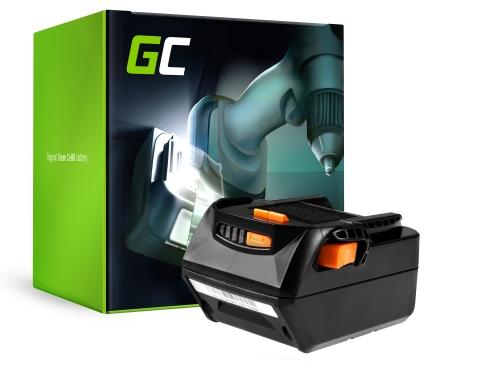 Green Cell® Battery (4Ah 18V) B1814G B1830R L1815R L1830R L1840R for AEG BBH 18 BBM 18 BFL 18 BKS 18 BS 18 BSB 18 BSS 18 BST 18