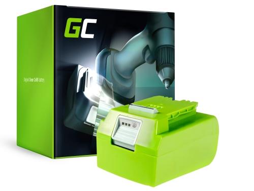 Green Cell® Battery (4Ah 24V) 2902707 2902807 G24 G24B2 G24B4 for GreenWorks 24V Series 2000007 2100007 2201207 2402207 3801107