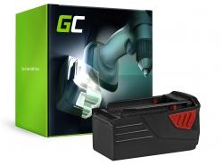 Green Cell® Battery (3Ah 36V) B 36 B 36/5.2 B 36/6.0 418009 for Hilti TE 6-A Li TE 6-A36 TE 6-A36-AVR TE6A WSR 36-A