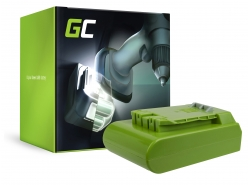Green Cell ® Battery for GreenWorks 29852 G-24 G24 24V 2Ah