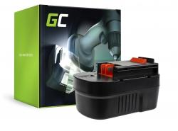 Green Cell ® Battery A14 HPB14 FSB14 for Black&Decker CP14K EPC14 EPC14CA HP142K XTC143 Firestorm FS1400 FS14PS PS142K