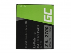 Green Cell ® Battery BL259 for Lenovo K3 K5 K5 Plus C2 Lemon 3