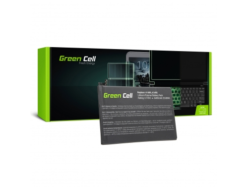 Battery Green Cell A1512 for Apple iPad Mini 2 A1489 A1490 A1600 A1491 A1599 2nd Gen iPad Mini 3 A1600 A1601