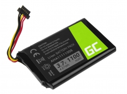 Green Cell ® Battery VFAD AHA11111008 for GPS TomTom 4FL50 Go 5100 6100 PRO TRUCK 5250 Trucker 6000