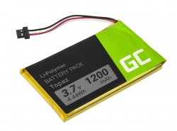 Green Cell ® Battery Topaz for GPS Navigon 70 70/71 Plus Easy Premium