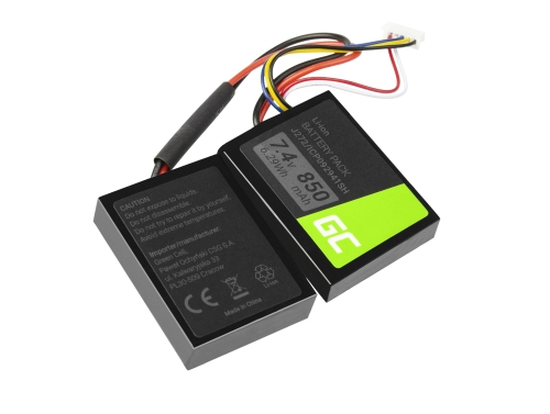 Green Cell ® Battery J272/ICP092941SH for Speaker Beats Pill 2.0 B0513 MH812AM/A MH812AMA-UG MH812ZM/A MH822AM/A, 7.4V 850mAh