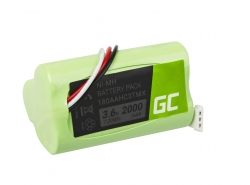 Green Cell ® Battery 180AAHC3TMX for wireless Speaker Logitech S315i S715i Z515 Z715 S-00078 S-00096 S-00100, NI-MH 3.6V 2000mAh