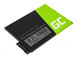 Green Cell ® Battery 170-1032-01 for Amazon Kindle 3 Keyboard 2010 D00901 E-book reader