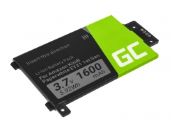 Green Cell ® Battery 58-000008 for Amazon Kindle Paperwhite I 2012 E-book reader