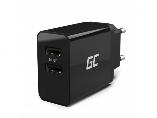 Orginal Green Cell ® Charger with 2 USB ports