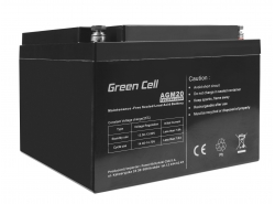 Green Cell ® Gel Battery AGM VRLA 12V 26Ah