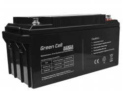 Green Cell ® Gel Battery AGM VRLA 12V 65Ah