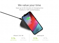Fast Qi Inductive Green Cell® Wireless Charger² 10W
