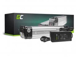 Accumulator Battery Green Cell Silverfish Panasonic Cells 36V 10.4Ah 374Wh for Electric Bike E-Bike Pedelec