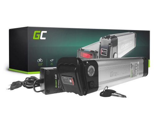 Accumulator Battery Green Cell Silverfish 36V 14.5Ah 522Wh for Electric Bike E-Bike Pedelec