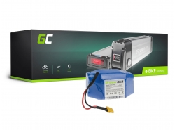 Accumulator Battery Green Cell Silverfish 24V 27.2Ah 653Wh for Electric Bike E-Bike Pedelec