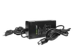 Charger for Electric Bikes, Plug RCA, 29.4V, 2A