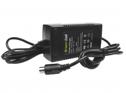 Charger for Electric Bikes, Plug RCA, 42V, 2A