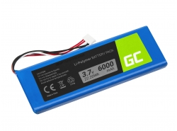 Green Cell ® Battery 5542110-P P5542100-P P5542100P for Speaker JBL Pulse 2 Pulse 3 Pulse II/III, Li-Polymer 3.7V 6000mAh