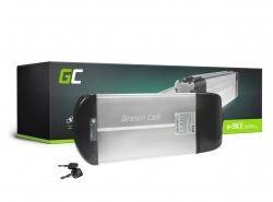 Accumulator Battery Green Cell Rear Rack 36V 10Ah 360Wh for Electric Bike E-Bike Pedelec