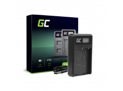 Camera Battery Charger BCH-1 Green Cell ® for Olympus BLH-1, OM-D E-M1 Mark II, Grip HLD-9