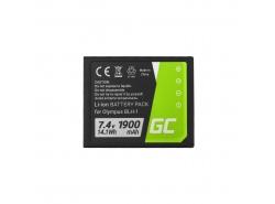 Green Cell ® Battery BLH-1 for Olympus OM-D E-M1 Mark 2 7.4V 1900mAh