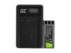 Green Cell ® Battery EN-EL3 and Charger MH-18 for Nikon DSLR D100 D200 D300 D50 D70 D80