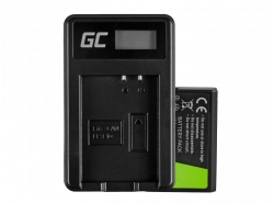 Green Cell ® Battery LP-E10 and Charger LC-E10 for Canon EOS Rebel T3, T5, T6, Kiss X50, Kiss X70, EOS 1100D