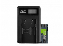 Green Cell ® Battery LP-E6 and Charger LC-E6 for Canon EOS 70D, 5D Mark II/ III, 80D, 7D Mark II, 60D, 6D, 7D 7.4V 1900mAh