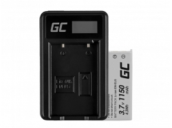 Green Cell ® Battery EN-EL5 and Charger MH-61 for Nikon Coolpix P100, P500, P530, P520